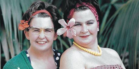 The Topp Twins, Jools and Lynda.