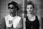 Hollie Smith and Tiki for the cover of Vibe Astrolabe bar Mount Maunganui. BTC 12Dec13