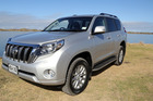 Toyota Land Cruiser Prado. Photo / Stuart Munro
