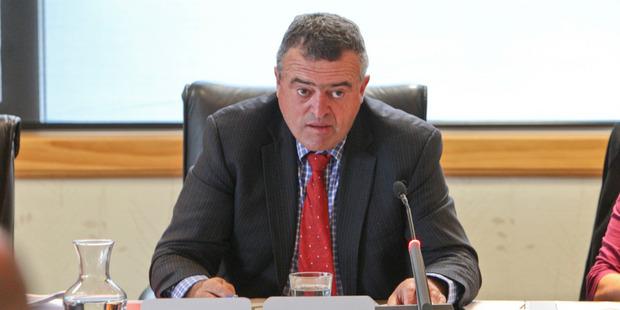 Regional council chairman Fenton Wilson. Photo / Glenn Taylor