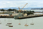 Devonport Naval Base. File photo / NZ Herald