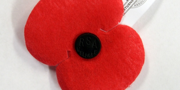 An ANZAC poppy will be taken to the grave of Flight Sergeant Kenneth Burchard.