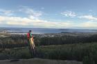 RETURN: James the top ``geezer'' Alexander overlooking Rotorua. PHOTO/SUPPLIED
