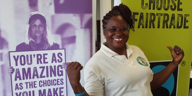 Rose Boatemaa Mensah says being part of a Fairtrade co-operative has changed her life in Ghana for the better. Photo / Supplied.