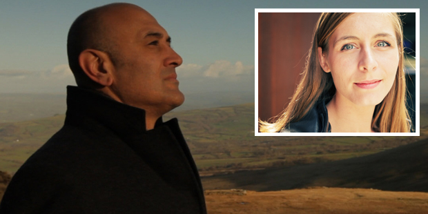 Jim Al-Khalili and Eleanor Catton.
