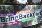 Dozens of people demonstrated in front of the Nigerian High Commission Friday to ask the Nigerian government to do more to rescue the 200 schoolgirls kidnapped by the Boko Haram group on April 14 in the northeastern town of Chibok.