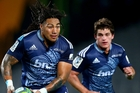Blues midfielder Ma'a Nonu, supported by Simon Hickey, has been a revelation this season. Photo / Getty Images