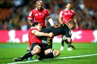 Gareth Anscombe played well for the Chiefs but their campaign could implode. Photo / Getty Images