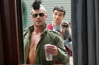 Zac Efron plays a frat president in Bad Neighbours.