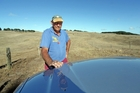 Kim Biddles wants rain on his drought-hit farm, but the weather forecasters aren't offering him much hope in their predictions for winter and spring. Photo/John Stone