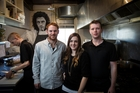 Loop Bistro in Kingsland is co-owned and run by, from left,  Elliott Boock, Hailey Boock Rodger and Craig Rodger. Photo / Michael Craig