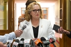 Judith Collins has been under pressure to name the Chinese border official she dined with last year. Photo / Mark Mitchell