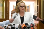 Judith Collins feels the heat. File/Photo
