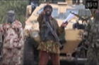 Abubakar Shekau, leader of extremists Boko Haram, claims in a video responsibility for the abduction of teenage schoolgirls. Photo / AP