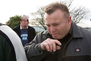 Damian Gillard. Picture / Greg Bowker