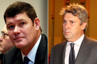 James Packer, left, and David Gyngell. Photo / File / Thinkstock