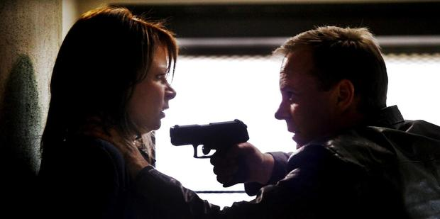 A scene from 24: Live Another Day.