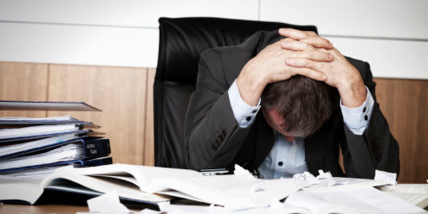 The summer holidays finished this morning for many and work stress has jolted back into people's lives. Photo / Thinkstock