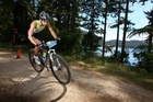 Training, recovery, fun...Olly Shaw loves being in Whakarewarewa Forest.