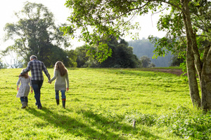 A good long brisk walk is not hard and it is good for the mind.