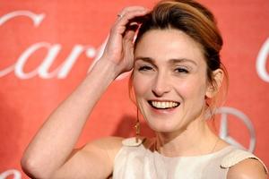 French actress Julie Gayet. Photo / AP