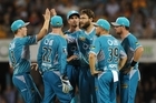 Daniel Vettori has claimed five wickets at 24.60 for the Brisbane Heat in the Big Bash League. Photo / Getty Images