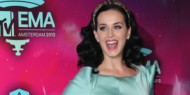 Katy Perry's backstage rider requests aren't very rock 'n' roll. Photo/AP