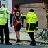 Emergency staff attend to a young cyclist who was hit by a car on Vincent Street in Auckland City, March 2013. Photo / Dean Purcell
