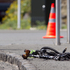 The scene of a fatal accident where cyclist John Tangiia died in an incident with a truck at the intersection of Stanley Street and Parnell Rise in Auckland, last week. Photo / NZ Herald