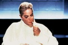 Sharon Stone in that controversial scene from Basic Instinct.