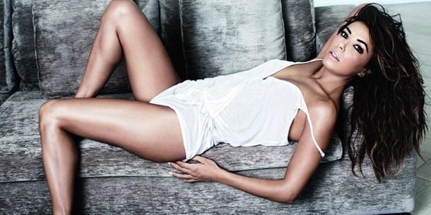 Eva Longoria in the new issue of Maxim magazine. Photo / Maxim