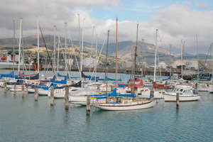 Inner Marina at Lyttelton Harbour. Photo / File / Geoff Sloan