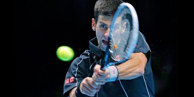 Novak Djokovic - a run of 22 successive victories - is the man to best. Photo / AP