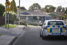 Police were yesterday patrolling nearby streets to the Papatoetoe woman's home. Photo / Greg Bowker