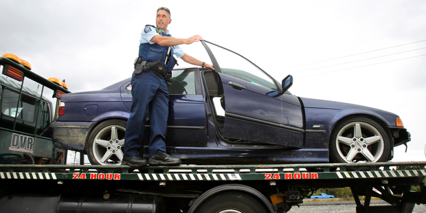 Courts can destroy an offender's car if they have three street racing offences in four years.