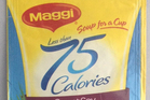 Maggi Soup for a Cup Less than 75 calories - $1.49 for 1 serve