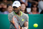 Donald Young of the USA during his 2nd round tennis match against David Ferrer of Spain. Photo / Sarah Ivey