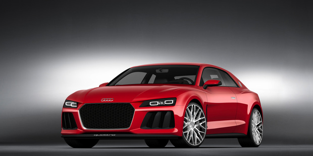 Audi Sport quattro laserlight concept to be shown in Las Vegas