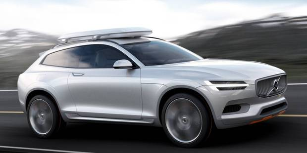 Volvo have revealed full images of the Concept XC Coupe before its unveiling at Detroit next week. Photos / Supplied