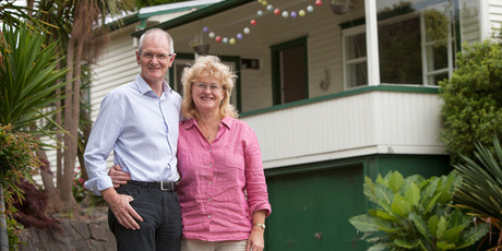 Auckland parents bought their two girls a house each. Photo / Chris Loufte