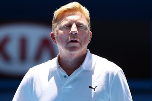 Boris Becker. Photo / Getty Images