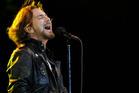 Pearl Jam's lead vocalist Eddie Vedder.