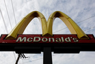 A McDonald's restaurant sign in Chicago. Photo / AP