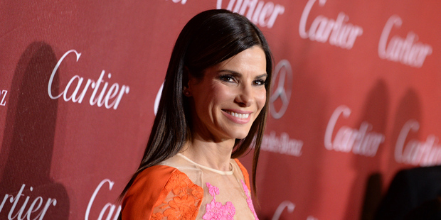 Sandra Bullock arrives at the Palm Springs International Film Festival Awards Gala in California. Photo / AP