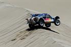 Former WRC and Dakar champion Carlos Sainz won the fourth stage of the 2014 Dakar rally. Photo / AP