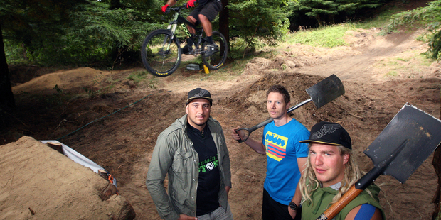 Tak Mutu, bottom left, from Mountain Bike Rotorua. Photo / Ben Fraser