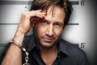David Duchovny as Hank Moody in Californication.
