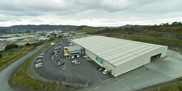 Toll Holdings distribution complex which is for sale at 223 Kioreroa Rd, Whangarei. Photo / APN