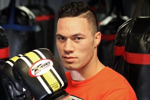 Joseph Parker was punched in the head and scratched in the face.