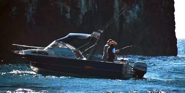 A pair of Auckland men on holiday are suspected of fishing illegally near the Poor Knights Islands. Photo / Kent Ericksen